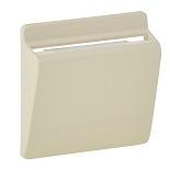 755161 - Лицевая панель для выключателя электронного с ключом-картой Legrand Valena LIFE/ALLURE (слоновая кость)