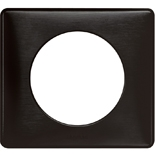 068981 - Рамка однопостовая Legrand Celiane, прямоугольная, 90х82мм (карбон)
