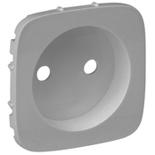 754977 - Лицевая панель для силовой розетки 2К Legrand Valena Allure (алюминий)