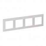 754004 - Рамка четырехпостовая Legrand Valena Life (белая)