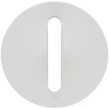 065001 - Лицевая панель для выключателя/переключателя с тонкой клавишей, Legrand Celiane (белая)