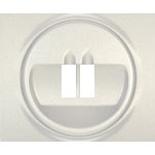771500 - Лицевая панель для простой акустической розетки Legrand Galea Life, перламутр
