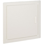 001431 - Щиток встраиваемый, 1 рейка, 12+2М, Legrand Nedbox (плоская металлическая белая дверь)