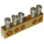 004801 - Клеммник без изоляции 1х6-25мм²+4х1.5-16мм², Legrand
