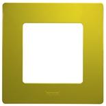 672541 - Рамка 1-постовая Legrand Etika (зеленый папоротник)