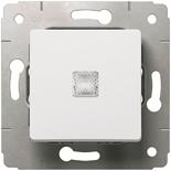 773626 - Переключатель на 2 направления с подсветкой, Legrand Cariva (белый)