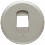 068511 - Лицевая панель для розетки акустической, Legrand Celiane (титан)