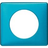 068771 - Рамка однопостовая Legrand Celiane, прямоугольная, 90х82мм (лазурный пунктум)
