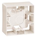 672520 - Коробка накладного монтажа Легранд Этика, однопостовая (слоновая кость)