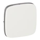755005 - Лицевая панель для одноклавишных выключателей Legrand Valena Allure (белая)