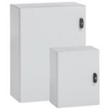 035528 - Шкаф металлический Legrand Atlantic, вертикальный, IP66 IK10, белый (800x600x400мм)