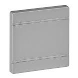 755062 - Лицевая панель для механизмов BUS/SCS, без маркировки, 2 модуля Legrand Valena Life (алюминий)