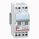004383 - Модульный переключатель Legrand, 2П, 2 модуля, 400 В~, 20А
