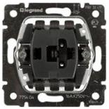 775604 - Механизм выключателя Legrand Galea Life без подсветки, 16А, одноклавишный (без клавиши)