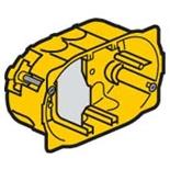 080049 - Монтажная коробка встраиваемая, 3-постовая, 40мм, d=67мм, для сухих перегородок, Legrand Batibox (для изделий Mosaic)