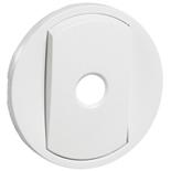 068012 - Лицевая панель для переключателя со встроенным датчиком движения, Legrand Celiane (белая)