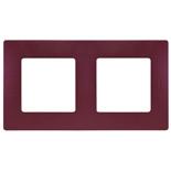 672562 - Рамка 2-х постовая Legrand Etika (сливовый)