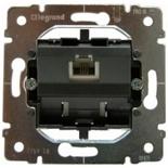 775938 - Механизм телефонной розетки Legrand Galea Life (RJ11), 4 контакта, 1 разъём