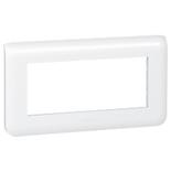 078815 - Рамка Legrand Mosaic, 5-модульная, горизонтальная (белая)