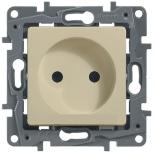 672320 - Розетка электрическая без заземления Legrand Etika (слоновая кость)