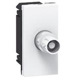 078758 - Розетка видео, разъём BNC 75 Ом, 1-модульная, Легран Мозаик (белая)