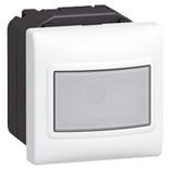 078451 - Датчик движения без нейтрали, 3-проводной, 2-модульный, Legrand Mosaic, 1000 Вт (белый)
