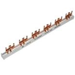 404913 - Гребенчатая шина для 6 автоматов по 2 фазы, Легран (вилка 10мм²)