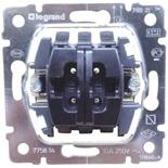 775814 - Механизм кнопочного выключателя для управления жалюзи/рольставнями, Legrand Galea Life