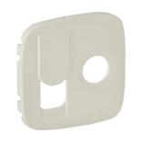 754836 - Лицевая панель для TV-RJ45 розетки Legrand Valena Allure (слоновая кость)