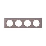 068734 - Рамка 4-постовая Legrand Celiane, 303×82мм, пластик (норка)