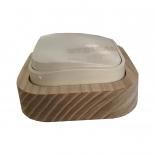 QK1-0 - Рамка деревянная Quteo Контур одноместная для серии Legrand Quteo