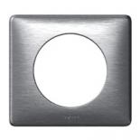 068921 - Рамка однопостовая Legrand Celiane, 90×82мм (алюминий)