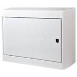 601256 - Щиток распределительный навесной, 1 рейка, 12+1М, Legrand Nedbox (металлическая дверь)