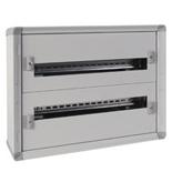 020002 - Щиток электрический навесной, 2 рейки, 48М, Legrand XL3 160 (металлический корпус)