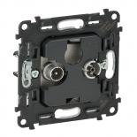 753053 - Механизм розетки TV-R без фильтра, диапазон 5-862 МГц Legrand Valena INMATIC