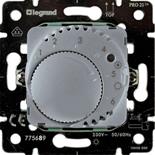 775689 - Механизм термостата для теплых полов, 16А, с датчиком температуры, Legrand Galea Life (алюминий)