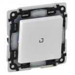 752161 - Выключатель влагозащищенный с подсветкой (ip44) Legrand Valena Life (белый)