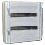 401657 - Щиток электрический навесной, 2 рейки, 36М, 90А, Legrand XL3 125 (прозрачная дверь)