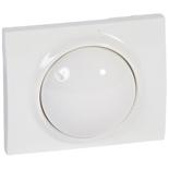 771068 - Лицевая панель для поворотных светорегуляторов (диммеров) Legrand Galea Life мощностью 400Вт, белая