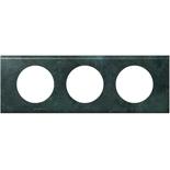 069273 - Рамка 3-постовая Legrand Celiane, 242х82мм, металл (патина медь)