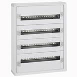 020054 - Щит электрический навесной, 4 рейки, 96М, Legrand XL3 160 (пластиковый корпус)