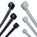 320 - Стяжка кабельная 4мм х 300мм (белая.)