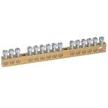 004805 - Клеммник без изоляции 1х6-25мм²+14х1.5-16мм², Legrand