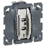 067005 - Механизм переключателя, 1-клавишный промежуточный (перекрёстный), 10AX, Легран Селян
