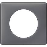 066731 - Рамка однопостовая Legrand Celiane, прямоугольная, 90х82мм (фиолетовая перкаль)