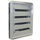 020014 - Щит электрический встраиваемый, 4 рейки, 96М, Legrand XL3 160