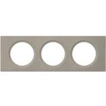 069143 - Рамка 3-постовая Legrand Celiane, прямоугольная, 242,5х82мм (Арт-Бетон)