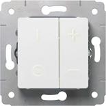 773615 - Светорегулятор 40-600Вт, Legrand Cariva (белый)