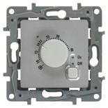 672430 - Термостат для теплых полов, с внешним датчиком, Legrand Etika (алюминий)