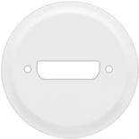 068215 - Лицевая панель для розетки аудио/видео HD15 (VGA), Legrand Celiane (белая)